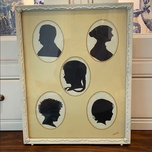 Vintage Silhouette Family Picture